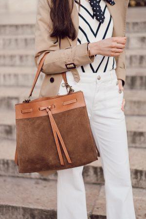 Le pantalon flare blanc que je cherchais depuis des années ! - Daphné Moreau - Mode and The City