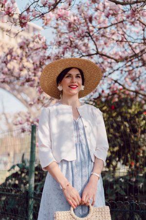 Mes chapeaux de paille et paniers en osier préférés - Daphné Moreau - Mode and The City
