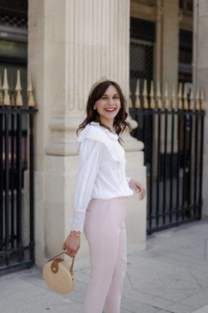 J'ai osé le pantalon rose pour l'été et il est soldé en ce moment - Daphné Moreau - Mode and The City