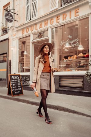Comment je porte la slingback en automne sans avoir froid - Daphné Moreau - Mode and The City