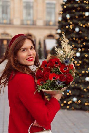 J'ai (encore) créé mon bouquet de Noël avec Bergamotte (jeu-concours) - Daphné Moreau - Mode and The City