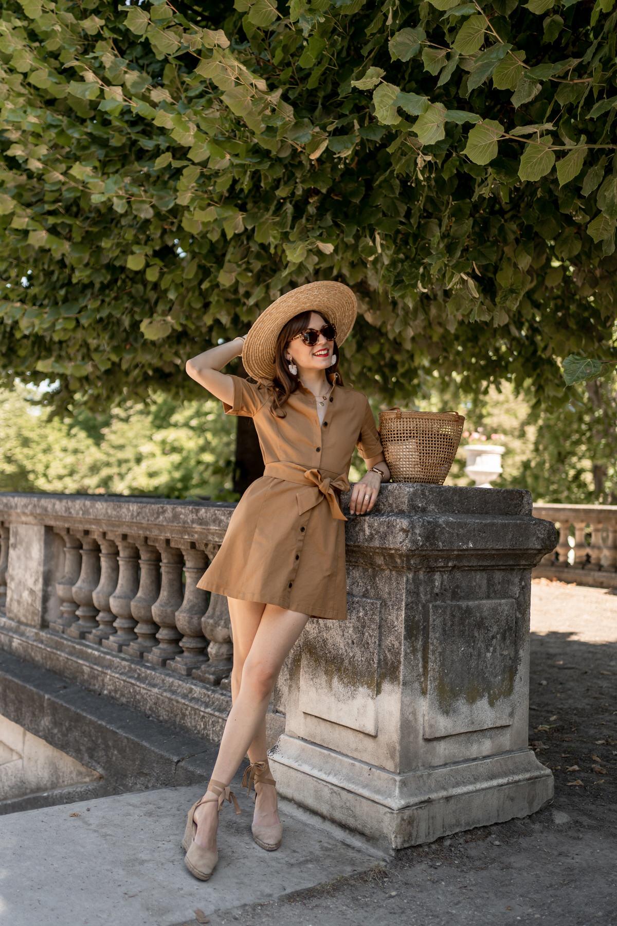 comment-porter-robe-chemise