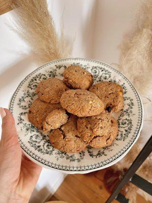 Ma recette de cookies healthy aux fruits secs (sans lactose – option sans gluten) - Daphné Moreau - Mode and The City
