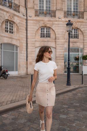 Le t-shirt blanc à avoir dans son dressing ! - Daphné Moreau - Mode and The City